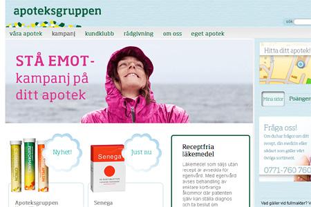 apoteket reklamfoto